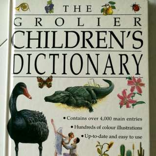 The Grolier Children Dictionary