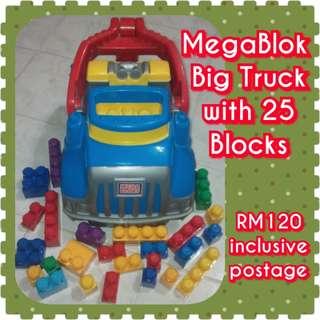 Mega Bloks Mega Tow Truck