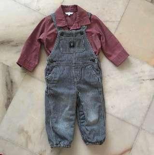 Original  baby bgosh free the red shirt
