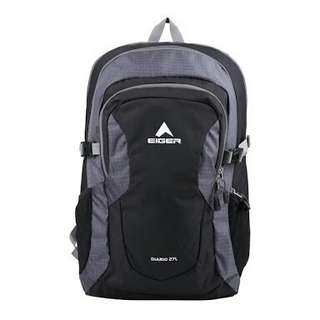Backpack Eiger Diario 27Lt Black ORI