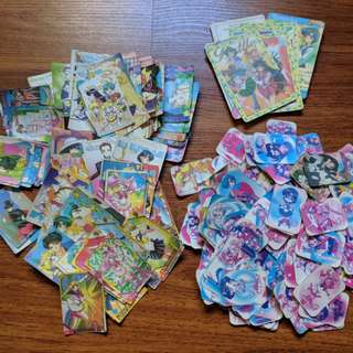 Over 250 Japanese Sailor Moon Character and Anime Scene Cards