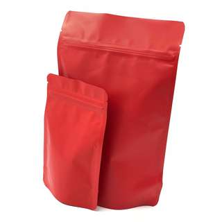Ziplock Matt Red (Standup)