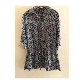 VOIR blouse labuh