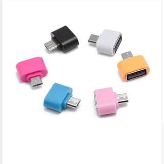 USB to OTG microusb/type C