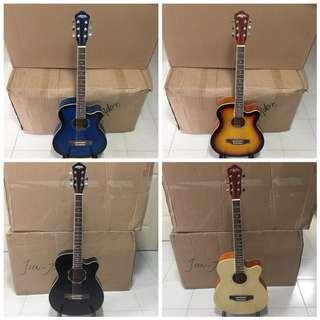 "Brand New 39"" Acoustic Guitars"