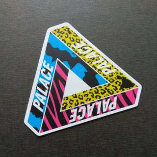 Palace Urban Street Sticker