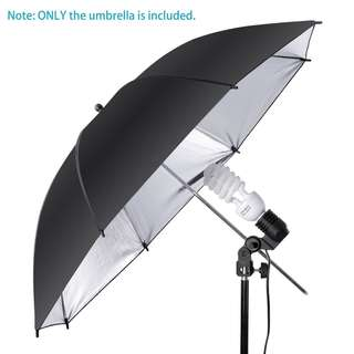 Pxel UMBS108 43 inch  108cm Black Gold Reflective Umbrella Photography