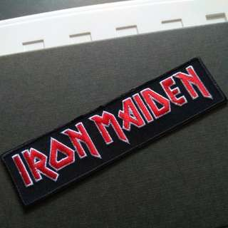 Iron Maiden Heavy Metal Rock Band Iron On Patch