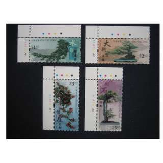 香港2003-盆景-郵票