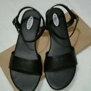 Suede/block Heels