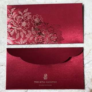 BN 2018 Ritz Carlton Red Packets