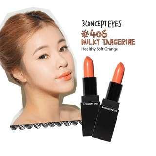 3CE Lipstick - Milk Tangerine