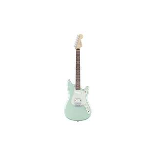 FENDER DUO-SONIC ELECTRIC GUITAR, PAU FERRO FB, SURF PEARL