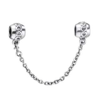 Hearts Chain Charm