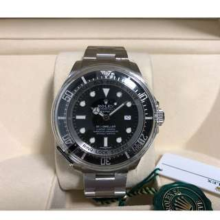 Rolex deep sea black