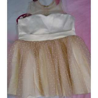 Baby Fashionista Brown Dress