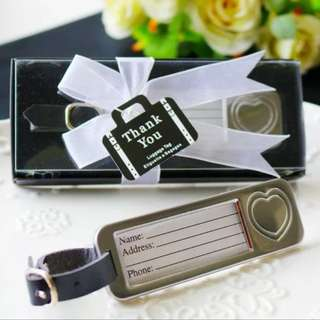 Wedding Door Gifts - Luggage Tag