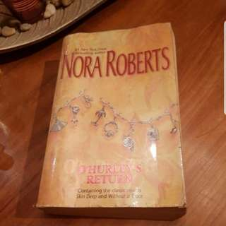 SALE! 'O Hurley's Return' by Nora Roberts