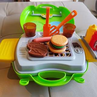 Grab! Barbeque Toy set