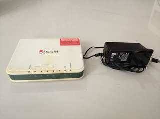 Aztech dsl Internet modem switch