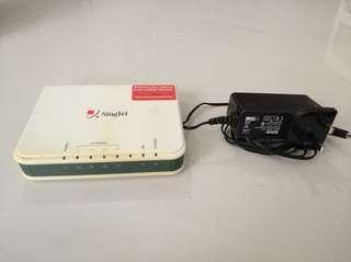 Aztech dsl Internet modem switch