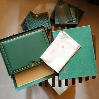 Rolex Watch Box Set Vintage New Old Stock