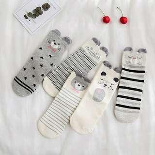 5 Pairs Socks