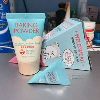 Etude House Baking Powder Welcome Kit
