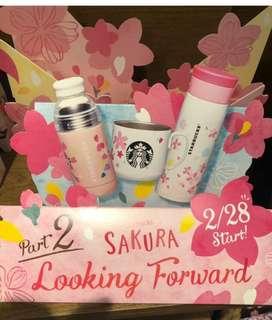 日本2018 Starbucks櫻花杯
