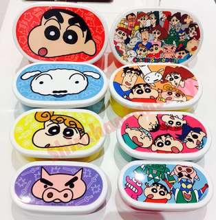 日本代購 蠟筆小新食物盒 套裝