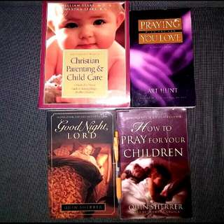4 Bn Complete Book Of Christian Parenting & Child Care: A Medical & Moral Guide To Raising Happy, Moral Children How To Pray For Your Children Good Night Lord : Inspirations For The End Of The Day  Praying With The One You Love Ann Hunt