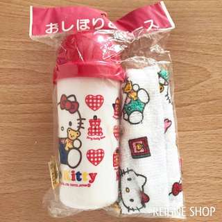 HELLO KITTY TOWEL AND CASE