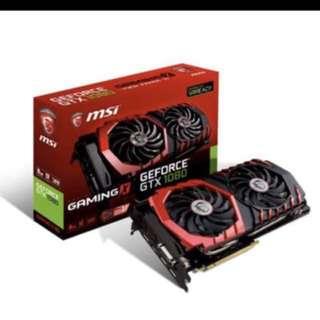 Msi GTX1080 Gaming X