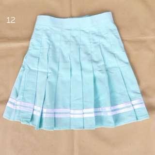 Tennis Skirt Baby Blue Premium