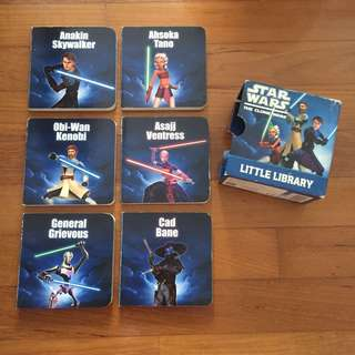Star Wars The Clone Wars Little Library
