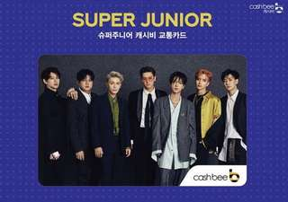 Super Junior - Cashbee Card