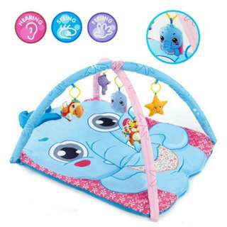 FREE POS Ready Stock Large Baby Play Soft Gym Mat Elephant Animal Activity