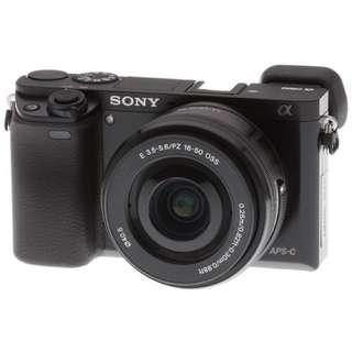 Sony Alpha A6000L 16-50mm + E 35mm F1.8 OSS