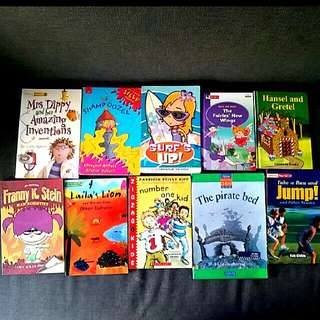 10 english  story books suitable for age 5 to 7 years old