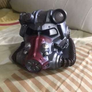 Exclusive Fallout Atom Cat Power Armor Coin Bank