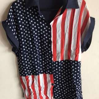 USA top shirt