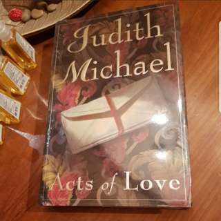 GARAGE SALE 'Acts of Love' by Judith Michael (Hardbound)