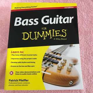 Patrick Pfeiffer: Bass Guitar for Dummies