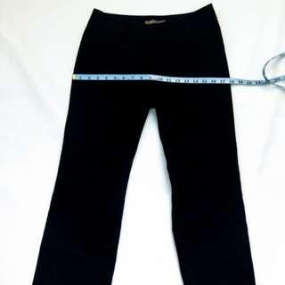 🚚 G2000全新女西裝褲 黑色低腰直筒