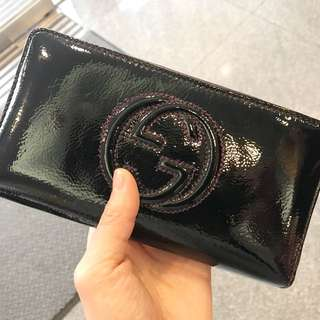 Authentic Gucci wallet 80%new