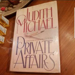 SALE! 'Private Affairs' by Judith Michael (Hardbound)