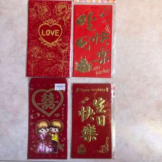 Marriage birthday Red Packets