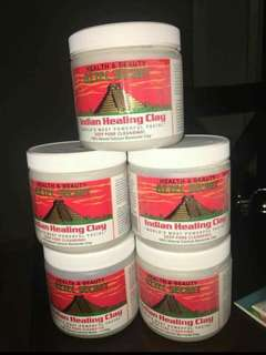 1tub Aztec Indian Healing Clay