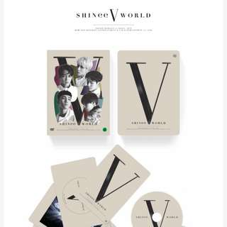 [PO] SHINee World V in Seoul DVD
