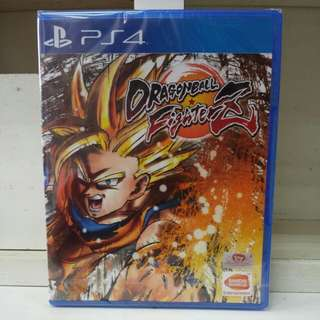 PS4 Dragonball Fighter Z R3 English